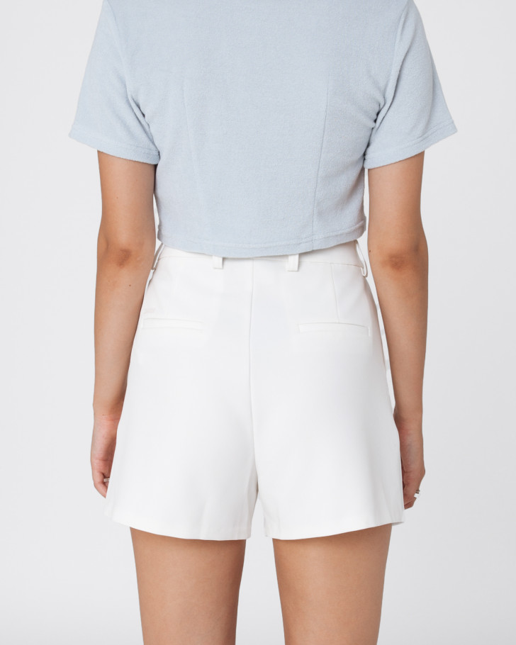 LUXE SHORTS OFFWHITE WOMEN