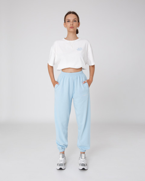 ZIA PANTS SKY BLUE WOMEN