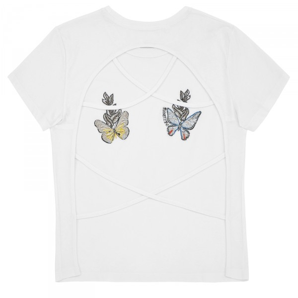 STRINGS ATTACHED TEE WHITE WOMEN
