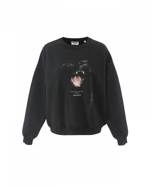 SAVAGE SWEATER BLACK VINTAGE WOMEN