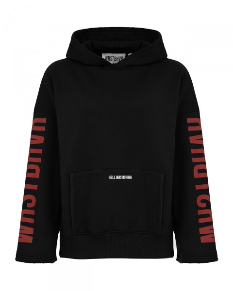 HELL HOODIE BLACK/RED WOMEN