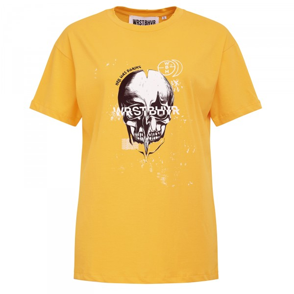 DEATHPROOF TEE YELLOW WOMEN