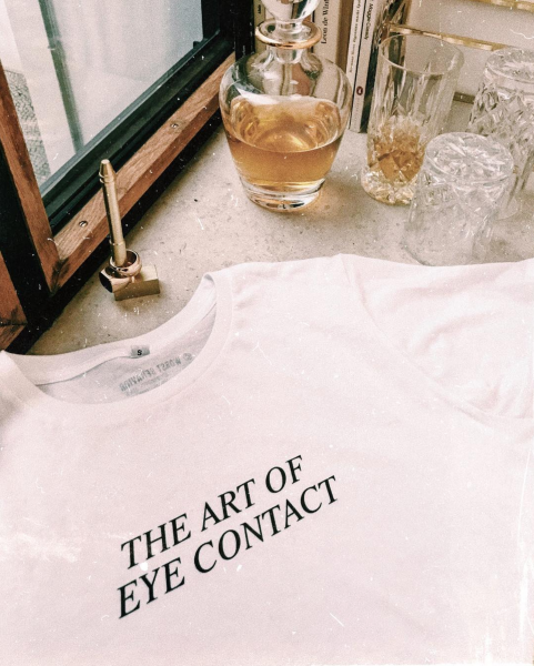 EYECONTACT SHIRT WHITE WOMEN