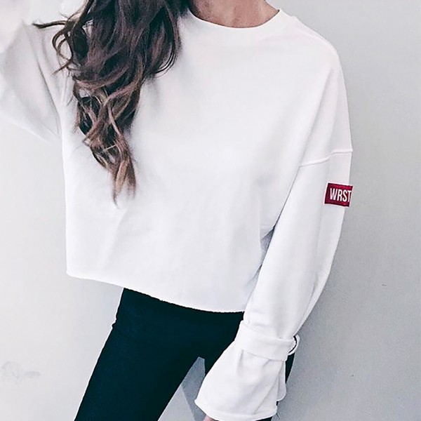 UNION SWEATER OFFWHITE WOMEN