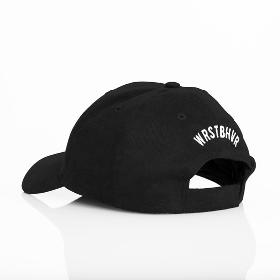 SLAY CURVED CAP BLACK