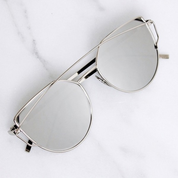 HYPE SUNGLASSES SILVER