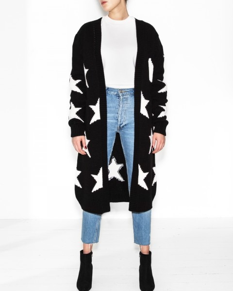 SUPERSTARS CARDIGAN BLACK WOMEN