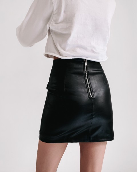MAGNET SKIRT BLACK