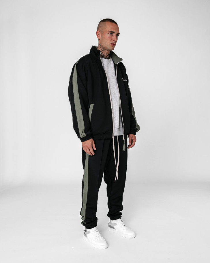 LOUNGIN TRACKPANTS BLACK MEN