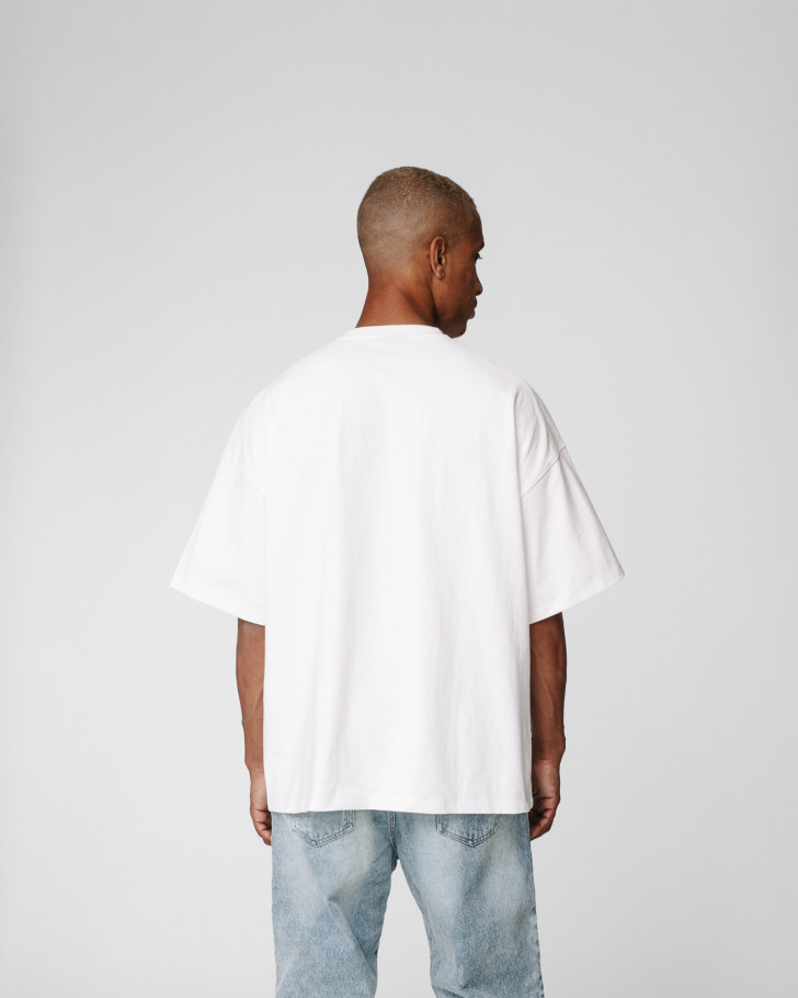 UNI VOLUME SHIRT OFFWHITE MEN
