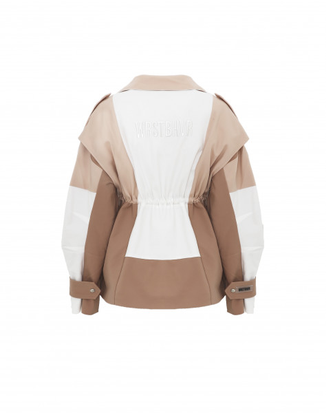 SAGE JACKET OFF-WHITE WOMEN