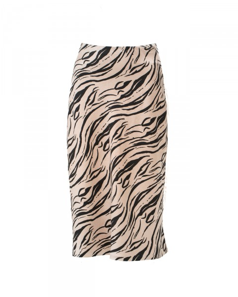 AMY SKIRT TIGER BEIGE