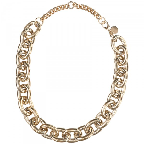 HEAVY D NECKLACE GOLD
