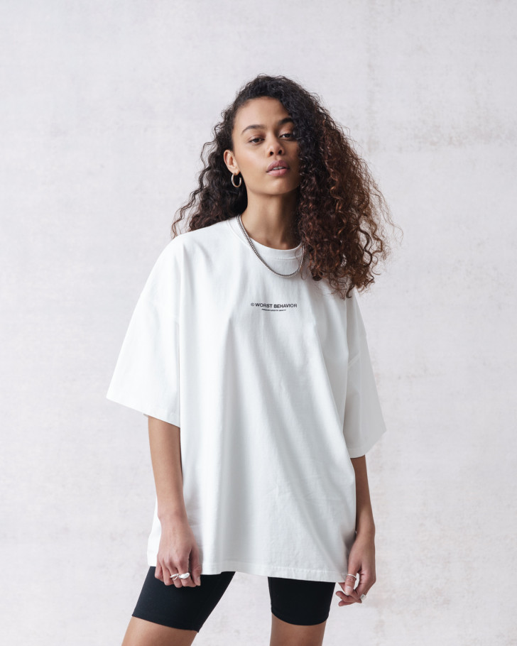 WIDE SHUT T-SHIRT OFFWHITE WASHED