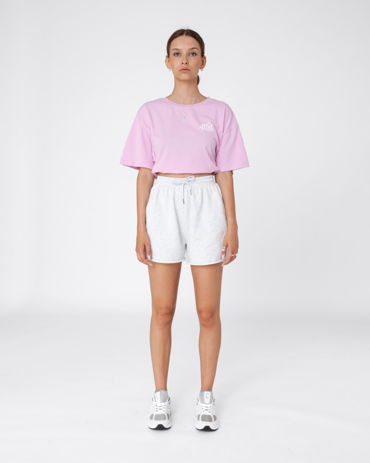 ZIA T-SHIRT SOFT LILAC WOMEN