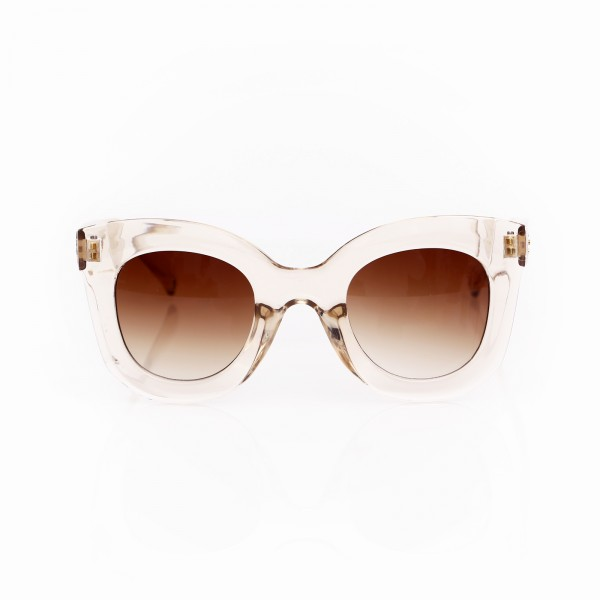 LUCY SUNGLASSES TRANSPARENT ROSE