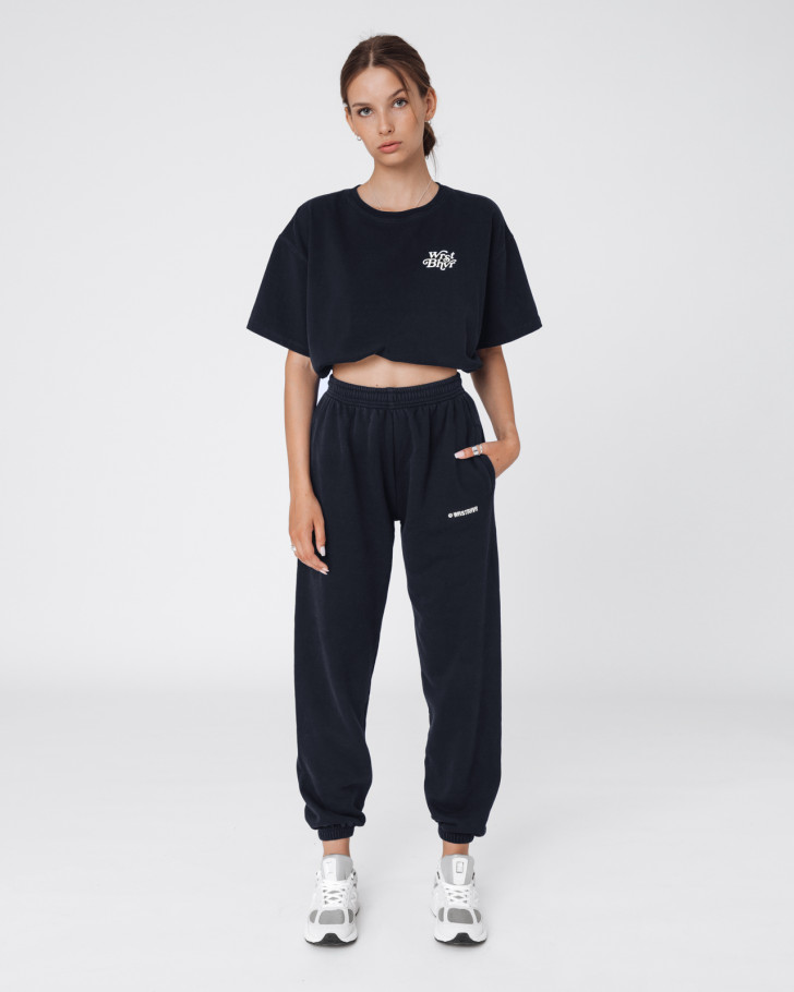 HARVEST PANTS BLACK WOMEN