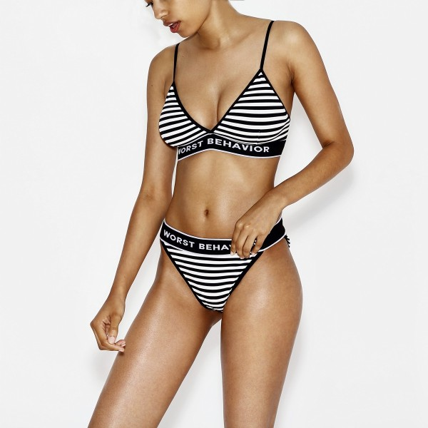 BIKINI LIBERTY STRIPED - BRALET