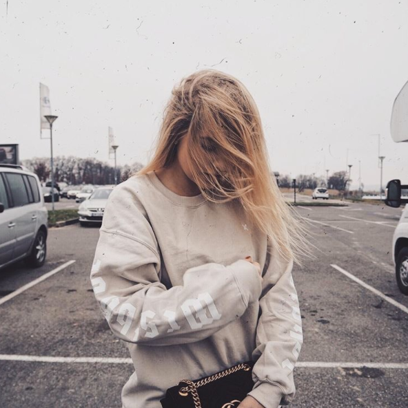GREATEST CREWNECK SAND WOMEN