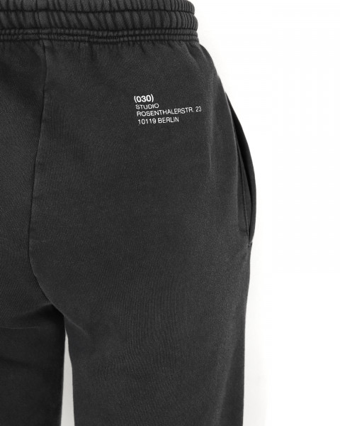 HARVEST PANTS BLACK WASHED WOMEN