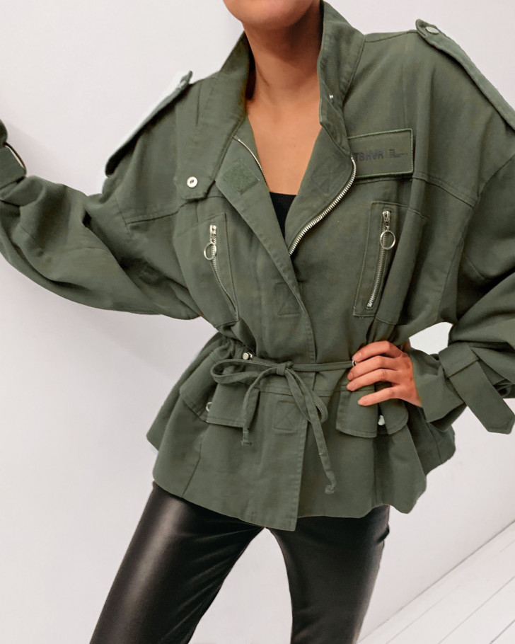 RIFLE JACKET OLIVE WOMEN