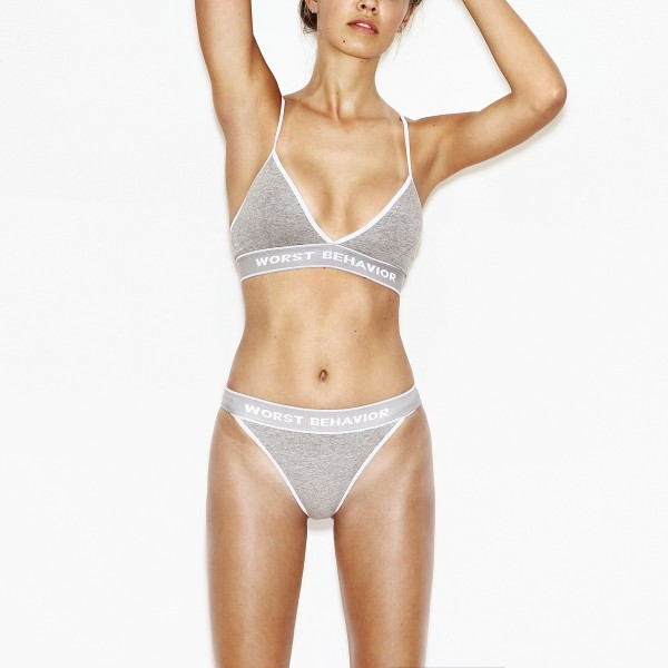 UNDERWEAR LIBERTY GREY - SET