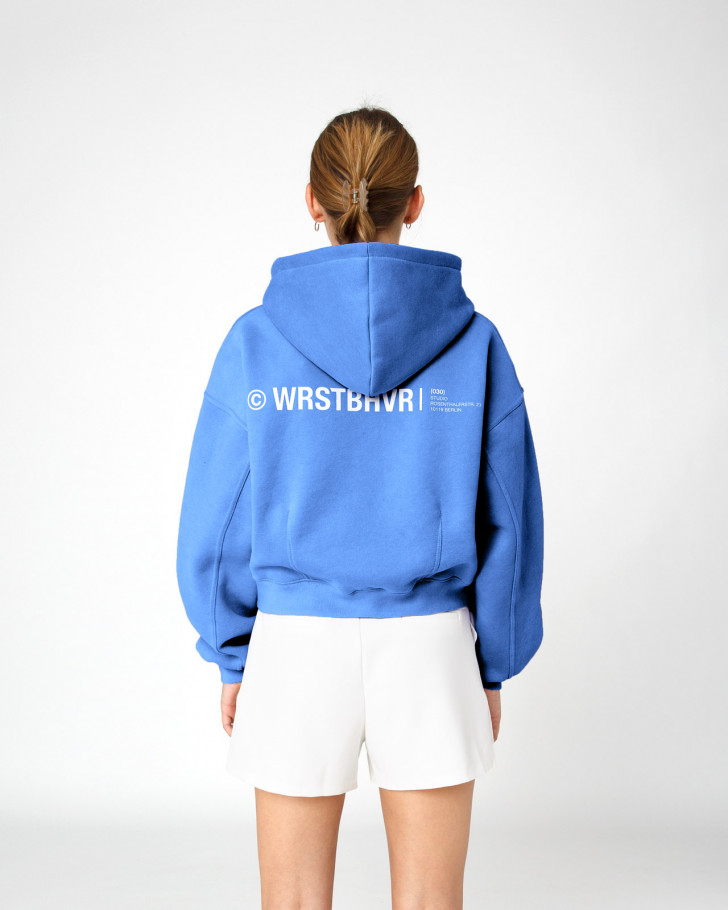 CORBY HOODIE ROYAL BLUE WOMEN