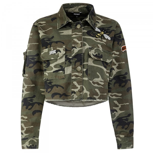 HUNTER JACKET CAMO WOMEN