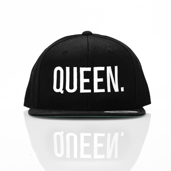 KING & QUEEN SNAPBACK SET BLACK