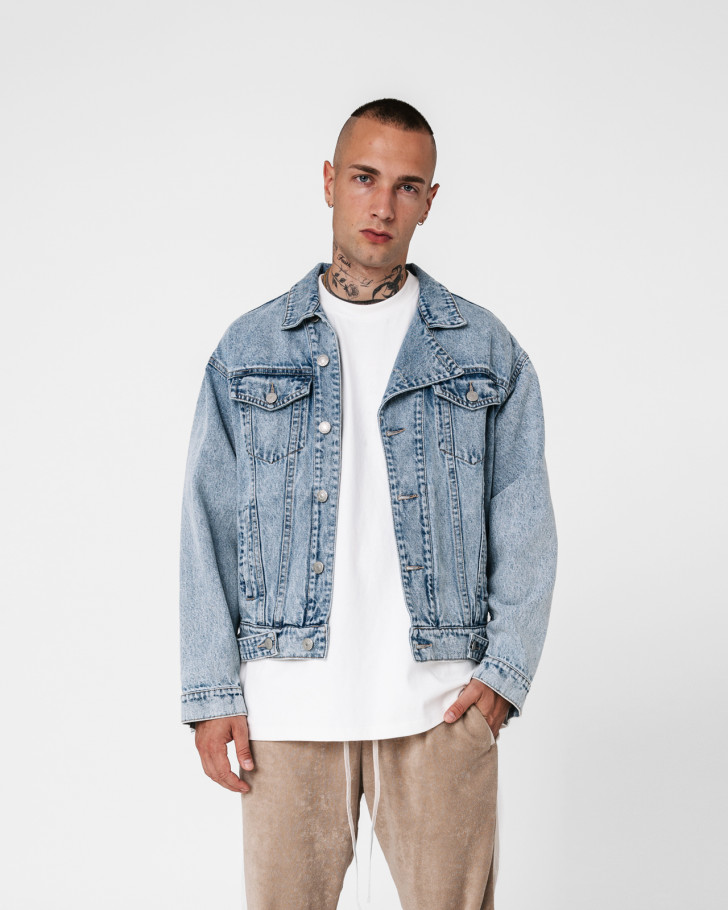 LINCOLN JACKET DENIM MEN
