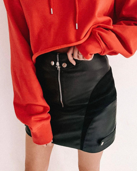 FALCON SKIRT BLACK