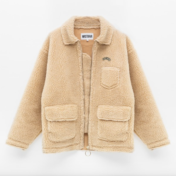 PILOT JONES JACKET BEIGE WOMEN