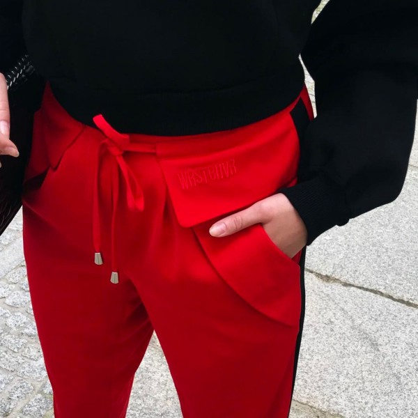 MARVIN PANTS RED WOMEN