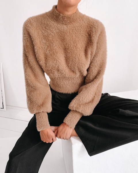 MOLLY KNIT SWEATER TOFFEE