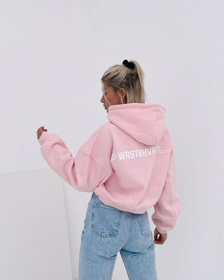CORBY HOODIE SOFT PINK WOMEN