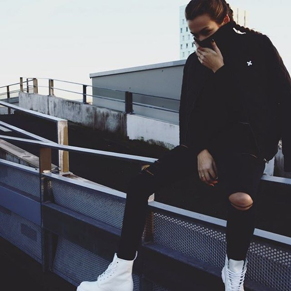 QUILTED BOMBER BLACK WOMEN