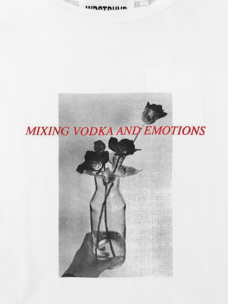 VODKA & EMOTIONS TEE WHITE WOMEN