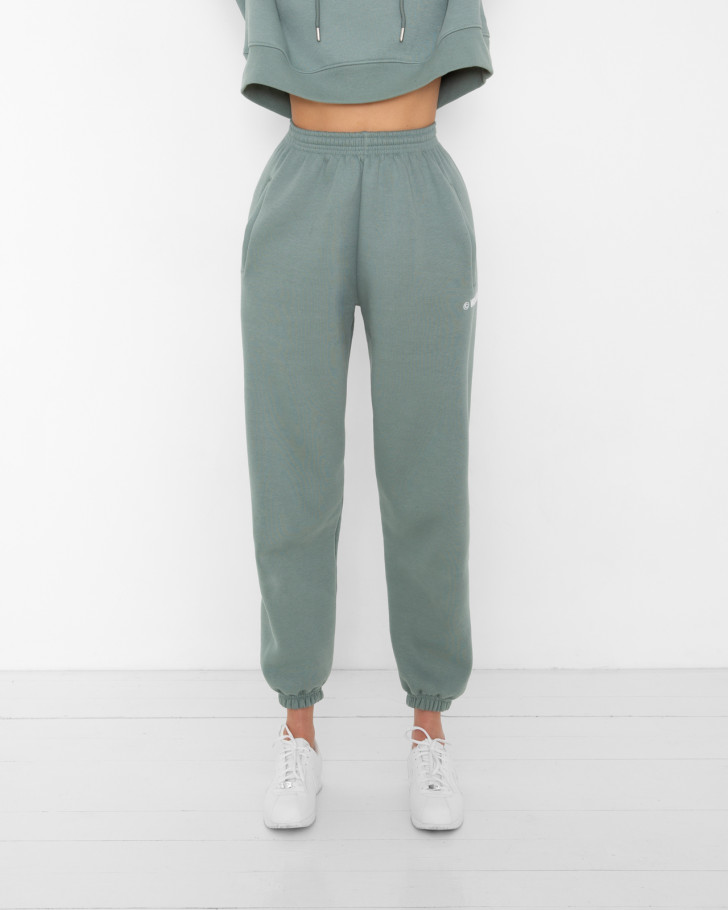 HARVEST PANTS GREEN WOMEN