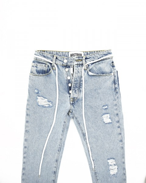 CHERRY HILL JEANS LIGHT BLUE WOMEN
