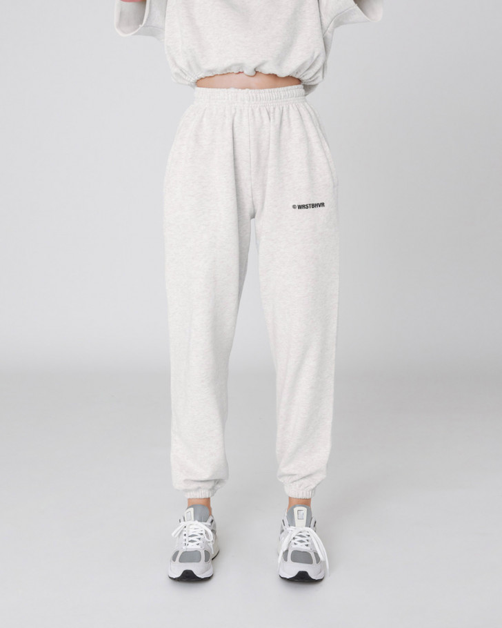 CORBY PANTS ICED OFFWHITE MELANGE WOMEN