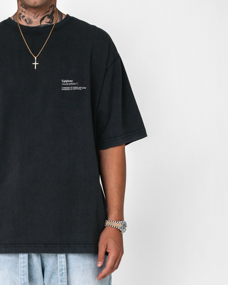 EPIPHANY SHIRT BLACK MEN