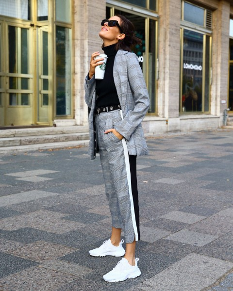 SIR BLAZER GREY WOMEN