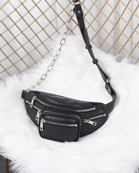 WILLIAM BELT BAG BLACK