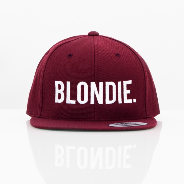 BLONDIE & BROWNIE SNAPBACK SET BORDEAUX
