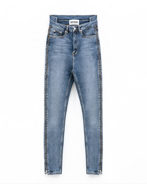 SCARED JEANS BLUE WOMEN