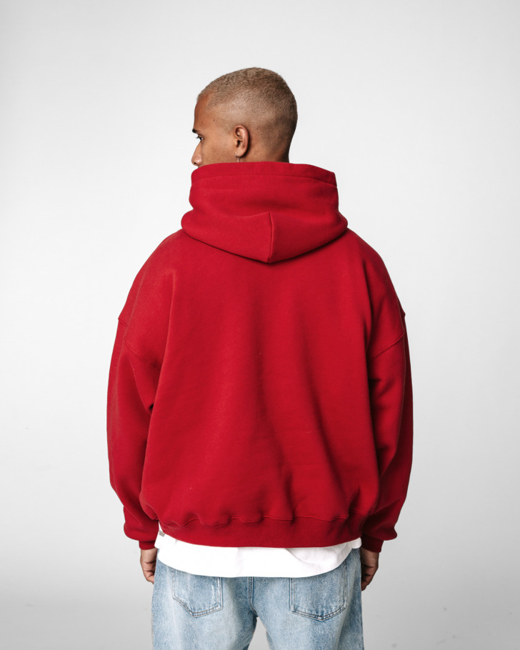 CHICAGO HOODIE RED