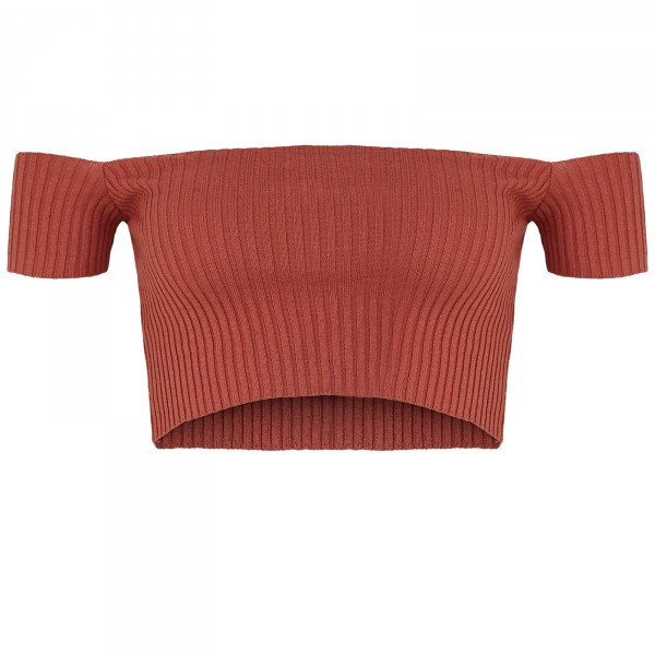 MINIMAL TOP RED WOMEN