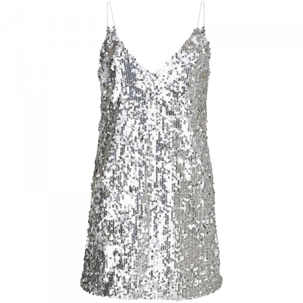 SKYFALL DRESS SILVER WOMEN