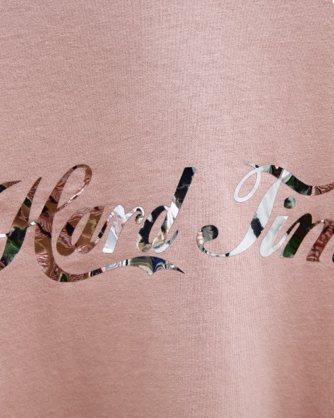 HARD TIMES TEE ROSE WOMEN
