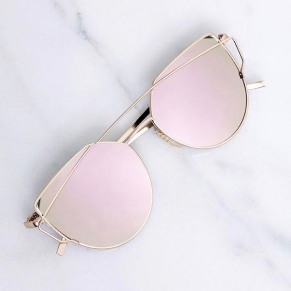 HYPE SUNGLASSES ROSE GOLD